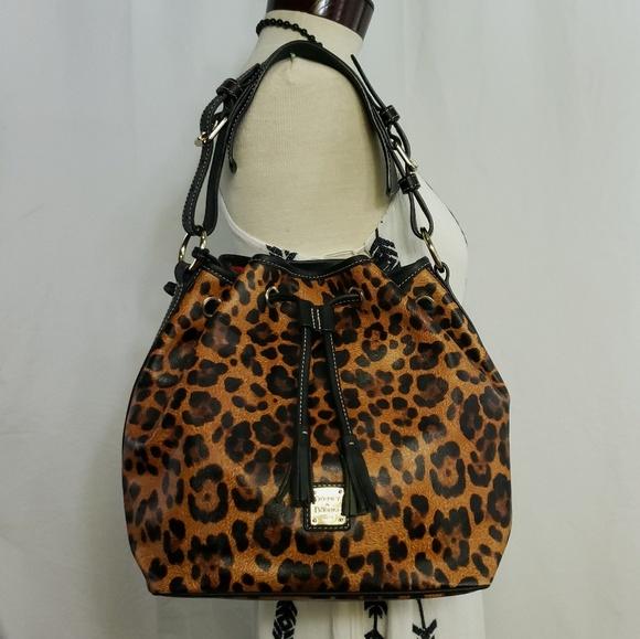 Dooney & Bourke Handbags - 🆕️Dooney & Bourke Genuine Leather Leopard Print